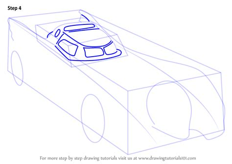 Learn How to Draw a Batmobile 1989 (Batman) Step by Step