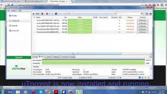 How to install uTorrent and download TV Shows - YouTube