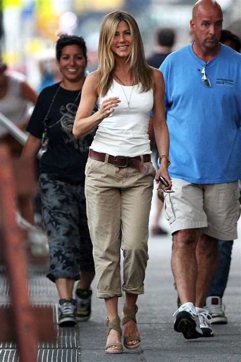 Photos of Emmy-Nominated Jennifer Aniston Filming The