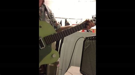 Gretsch G6125 and Princeton Reverb - YouTube