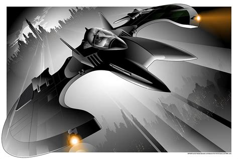New Poster Release: The Batwing by Craig Drake! – Mondo