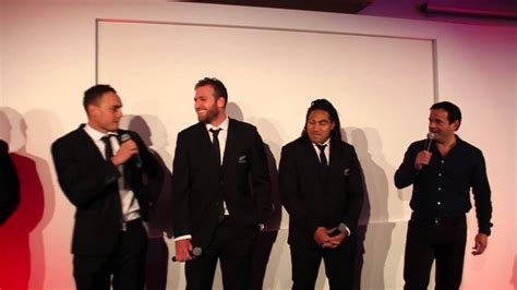 Will introduces The All Blacks - YouTube