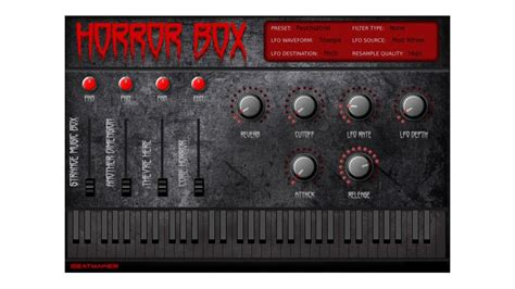 Get set for Halloween with the free Horror Box ROMpler