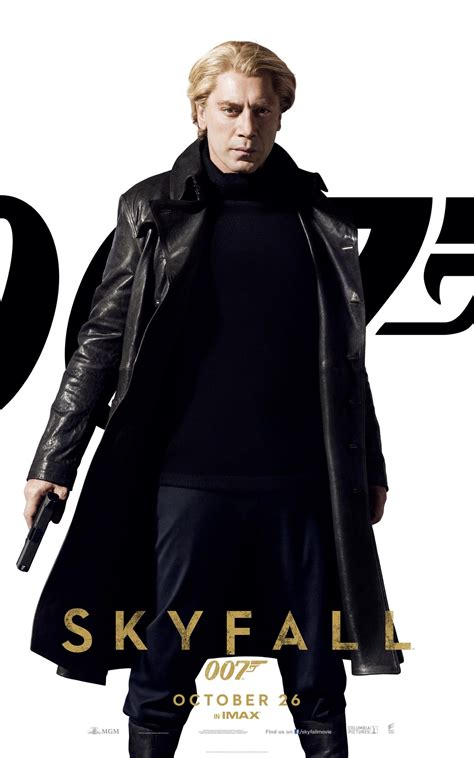 Banner & Four 'Skyfall' Character Posters Line Up Bond