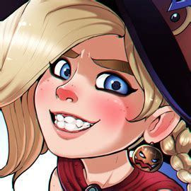 Little Witch Mercy by TheShadling on Newgrounds