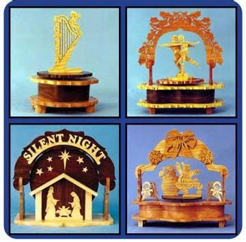 Downloadable Music Box Value Pack of Patterns – Scrollsaw