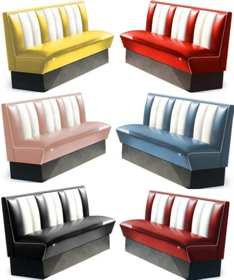 Banquette Diner 150 : Mobilier USA / FIFTIES