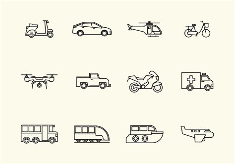 Vehicle Vector Icon - Download Free Vector Art, Stock