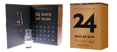 The Rum Advent Calendar : a gift idea for the rum lover in